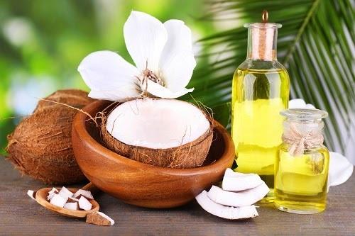 chữa nấm phụ khoa bằng dầu dừa